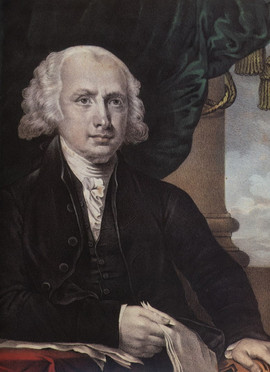 JAMES MADISON - FOURTH PRESIDENT OF THE U.S.