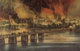 THE FALL OF RICHMOND VA. ON THE NIGHT OF APRIL 2ND 1865