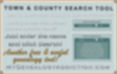 Town & County Search Tool