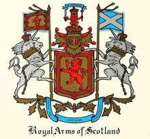 - ROYAL ARMS OF SCOTLAND