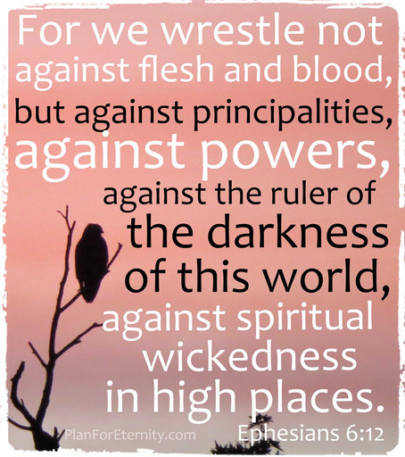 Our battle against wickedness