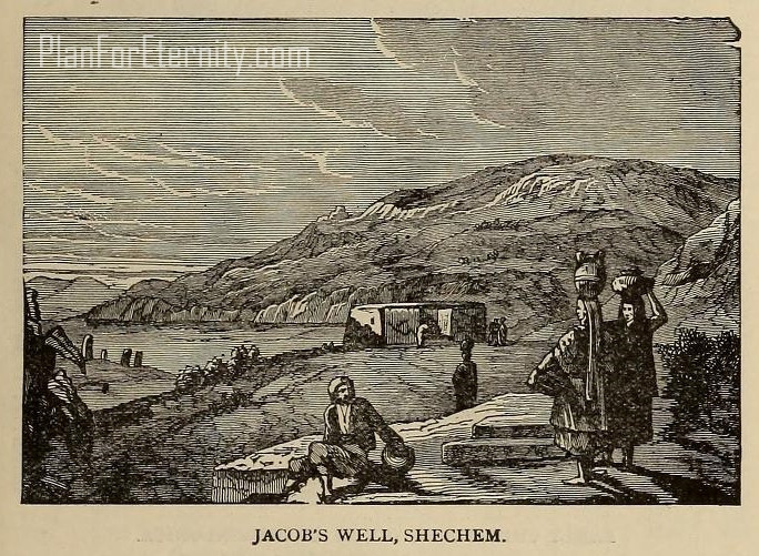 Jacob's well at Shechem