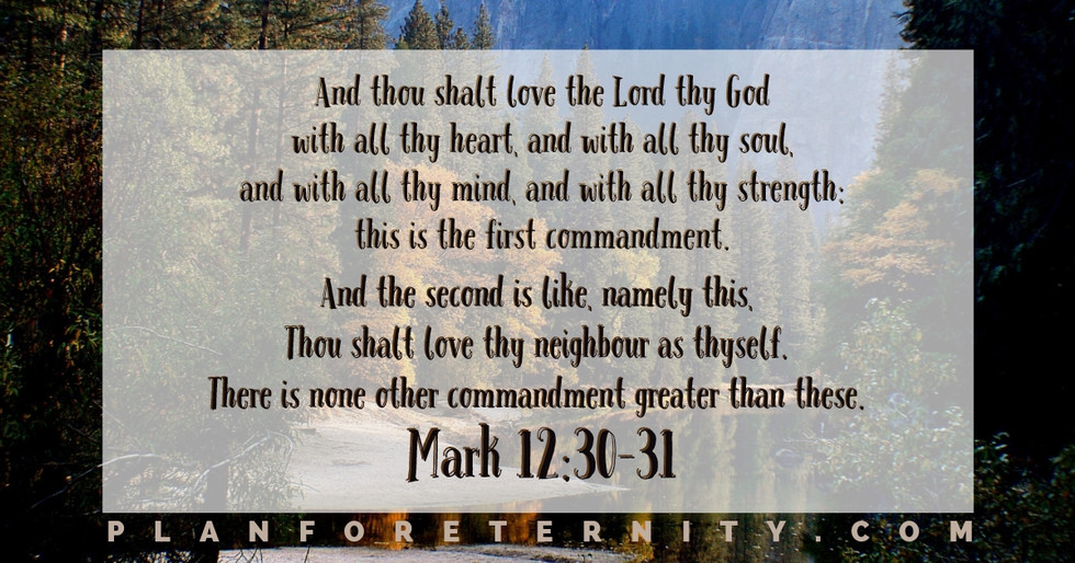 The first and most important commandment