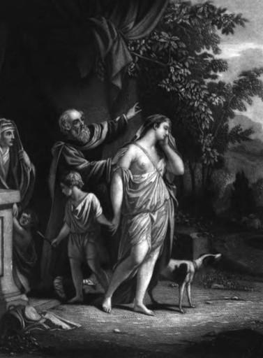 Abraham sends Hagar and Ishmael away