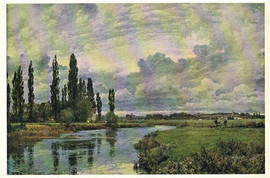 POPLARS IN A THAMES VALLEY