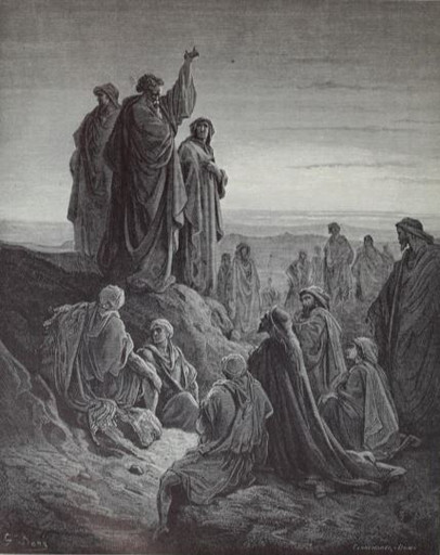 The Apostles Preach the Gospel