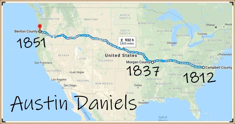 Austin Daniels takes the Oregon Trail
