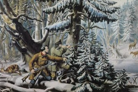AMERICAN WINTER SPORTS - DEER SHOOTING ON THE SHATTAGEE