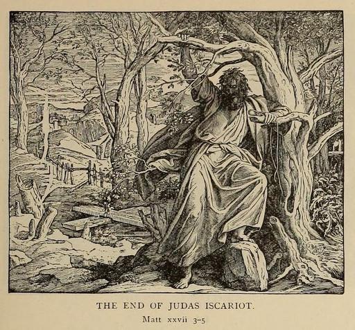 The end of Judas Iscariot