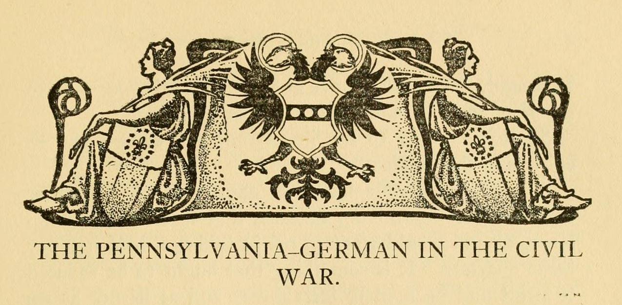 The Pennsylvania-German in the Civil War icons