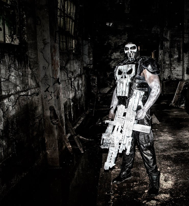 Chris English as The Punisher