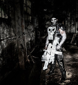 Chris English as The Punisher