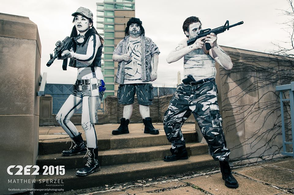 Walking Dead- Drawn to Cosplay