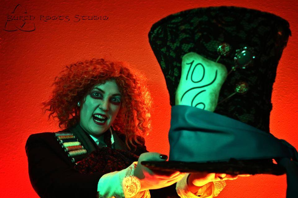 Nicci Tague as Mad Hatter