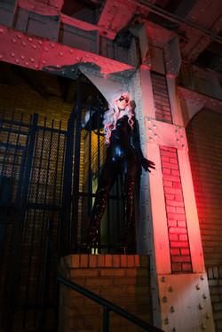 Sahara Cole as Black Cat