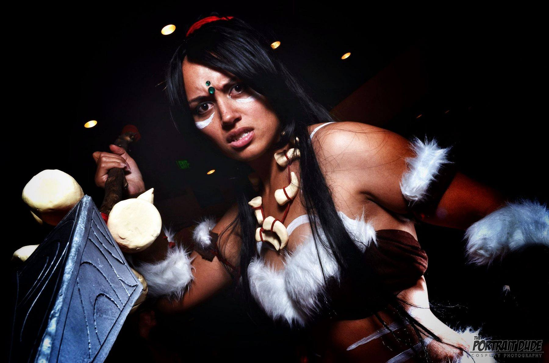 Lucky Jackson- LoL Nidalee cosplay