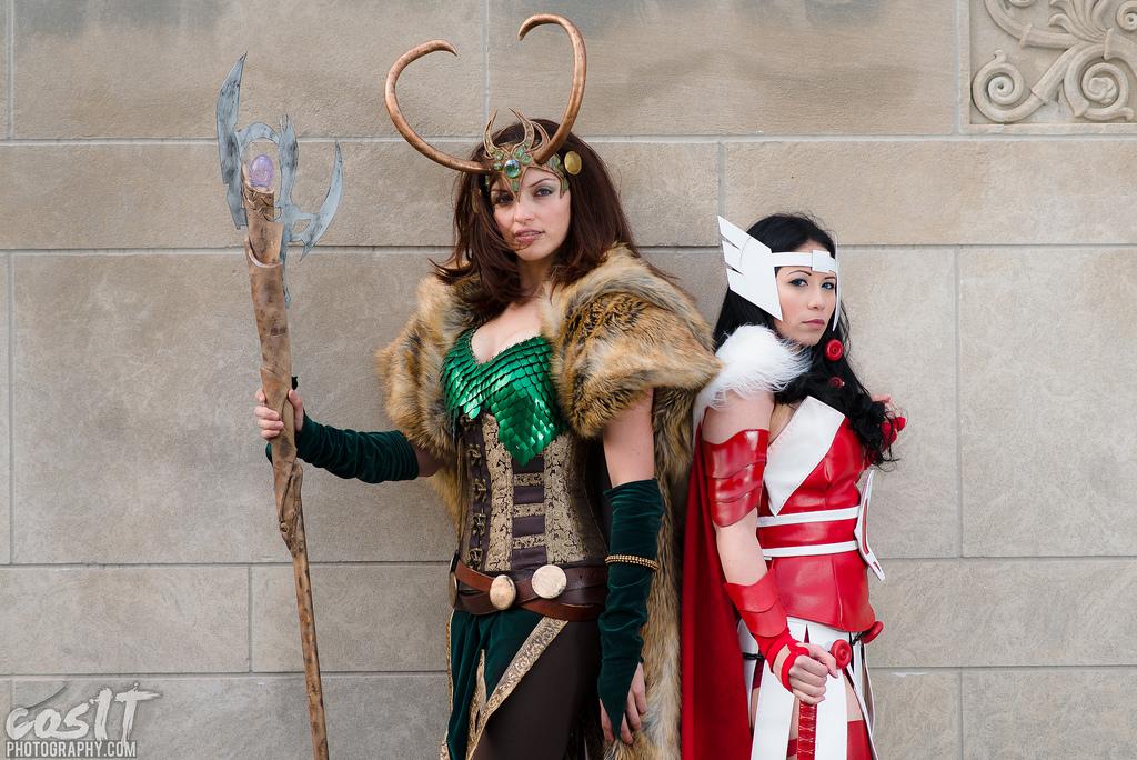 Loki & Lady Sif- Kyra & Evelynne