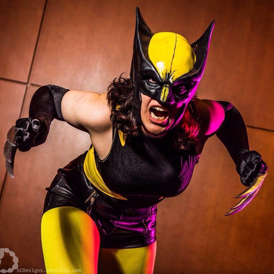 Cassie Sandra as Wolverine