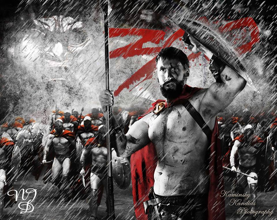 James Wulfgar as Leonidas