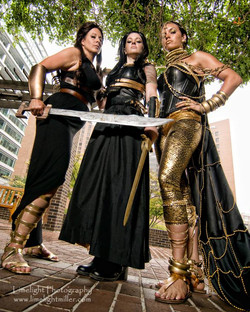 300 Group Cosplay