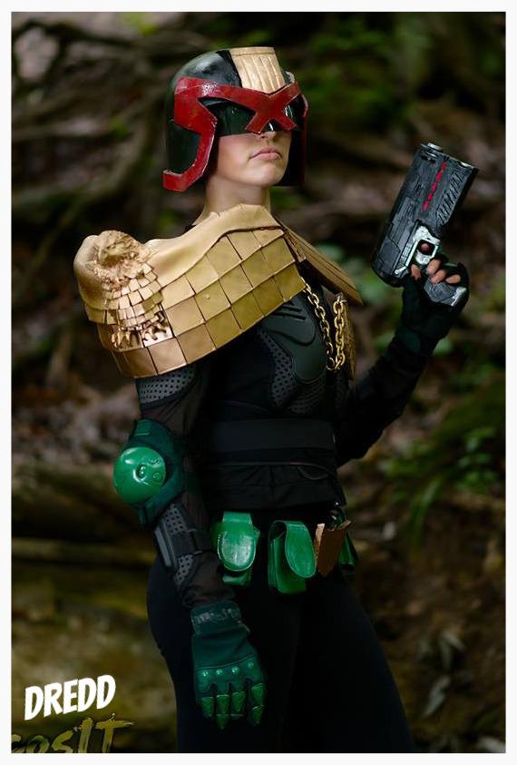 Judge Dredd- Kyra Wulfar