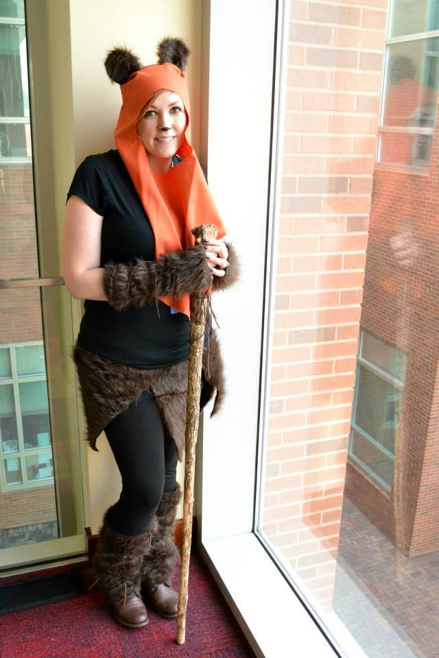 Nicci Tague as Ewok