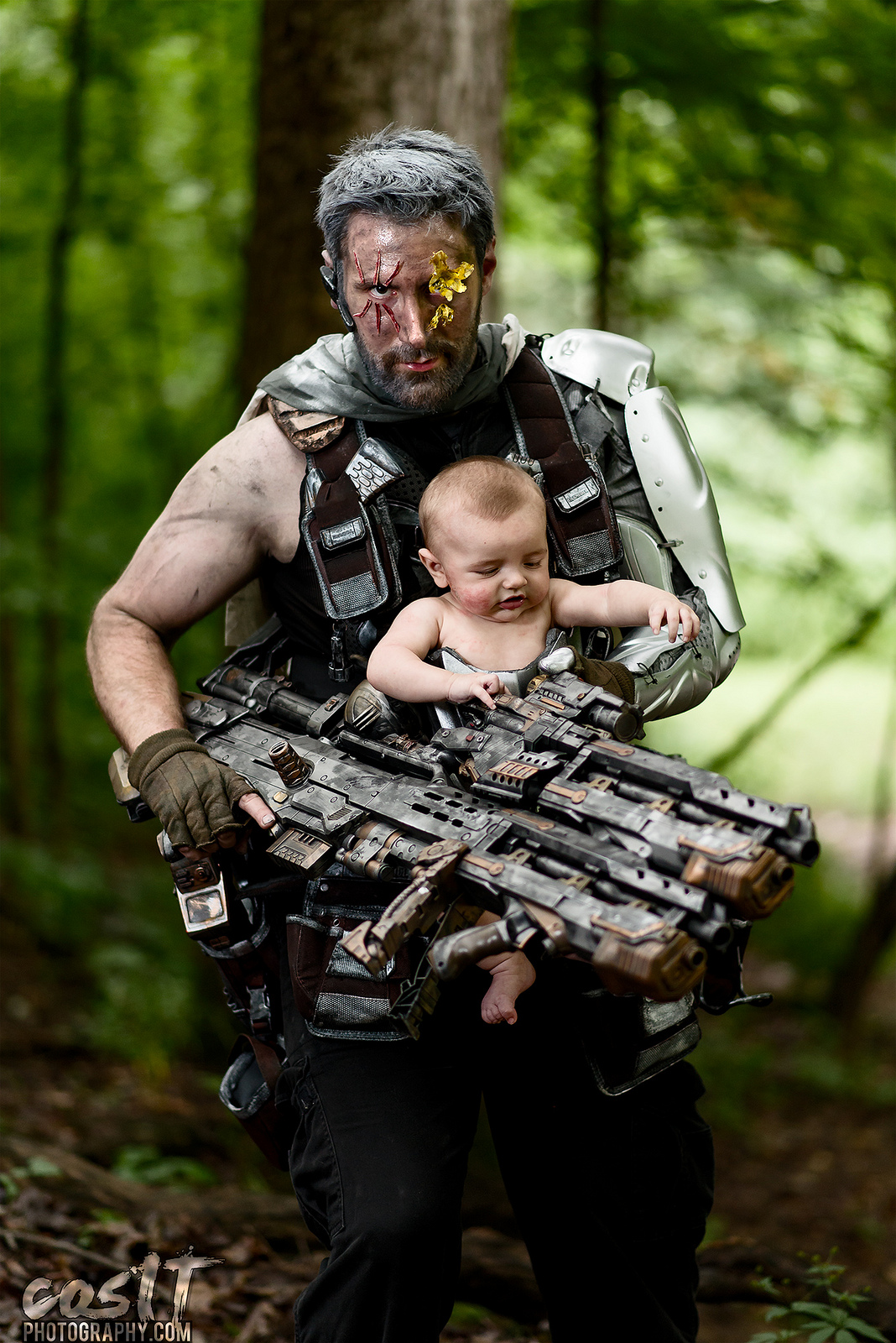 James Wulfgar as Cable and Hope.
