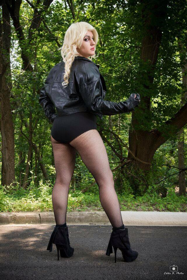 Cassie Sandra as Black Canary
