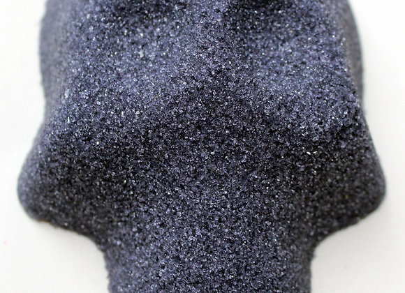 Blank Sugar Skull: Black