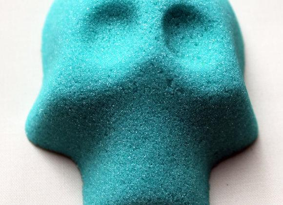 Blank Sugar Skull: Teal