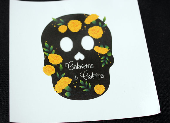 Calaveras la Catrina Sticker