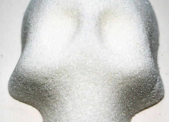 Blank Sugar Skull: White