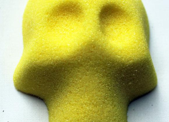 Blank Sugar Skull: Yellow