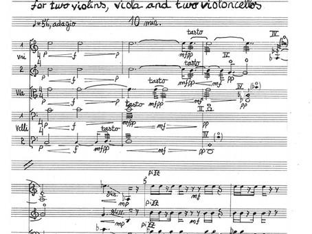 Krstna izvedba kvinteta Tomaža Sveteta na 1. koncertu cikla Carpe artem