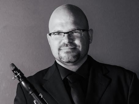 2. koncert cikla Carpe artem s klarinetistom Tadejem Kenigom