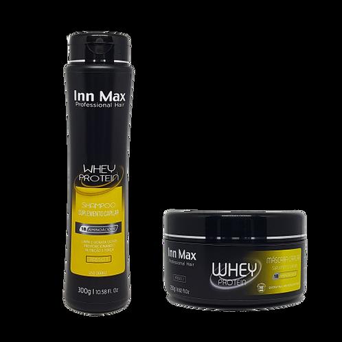 Kit Shampoo e Máscara Whey InnMax