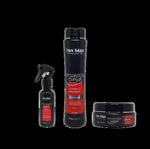 Kit Manutenção Repolarização Capilar 300g InnMax Professional Hair