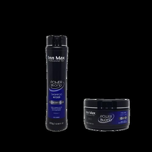 Kit Power Blond 300g InnMax Professional Hair