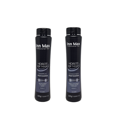 Kit Hidrate Hair System 300g Uso Diario InnMax Professional Hair
