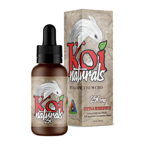 Koi Naturals Strawberry CBD Oil 250mg or 500mg   From: