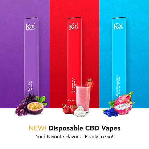 CBD Disposable Vape Bar