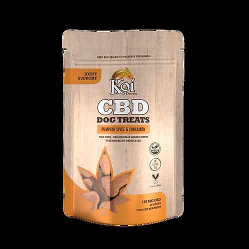 Koi CBD Dog Treats: Joint Support – Pumpkin Spice & Cinnamon
