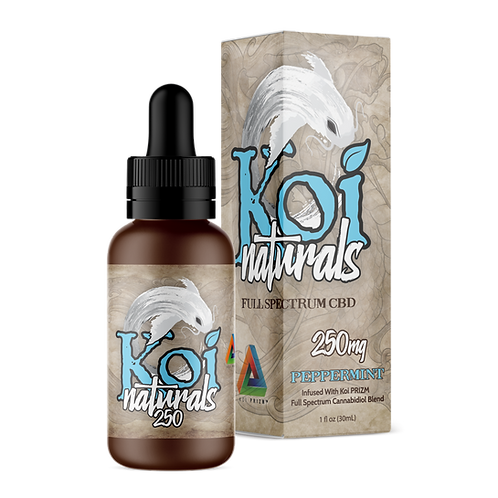 Koi Naturals Peppermint CBD Oil 250mg or 500mg   From:
