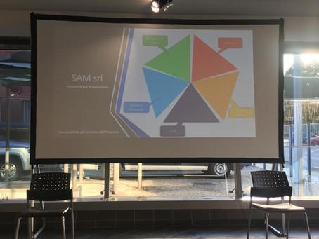 Presentazione di SAM all'associazione Imprenditori Nord Milano!