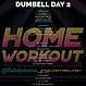 THE LAB PANAMA GYM DELIVERY DUMBELL WORKOUT DAY 2