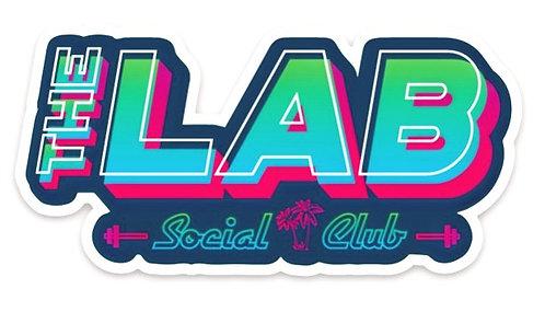THE LAB SOCIAL CLUB STICKERS
