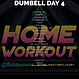 THE LAB PANAMA GYM DELIVERY DUMBELL WORKOUT DAY 4