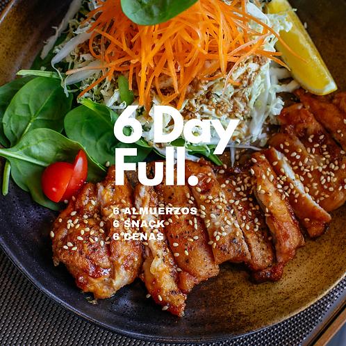 6 DAYS FULL