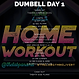 THE LAB PANAMA GYM DELIVERY DUMBELL WORKOUT DAY 1
