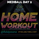 THE LAB PANAMA GYM DELIVERY MEDBALL WORKOUT DAY 2